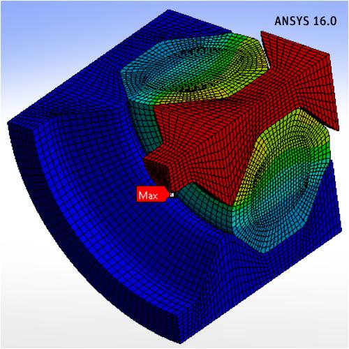 Использование всего спектра свойств материалов ANSYS 16