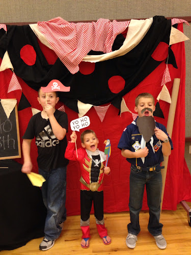 Pirate photo booth