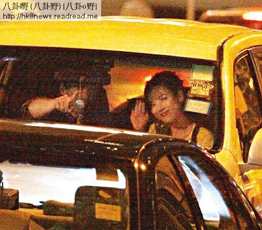 之後陳做司機送女友到灣仔出席飲宴。