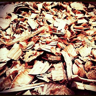 Broyat composteur