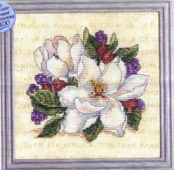 Cherished Magnolia cross stitch patterncross stitch pattern