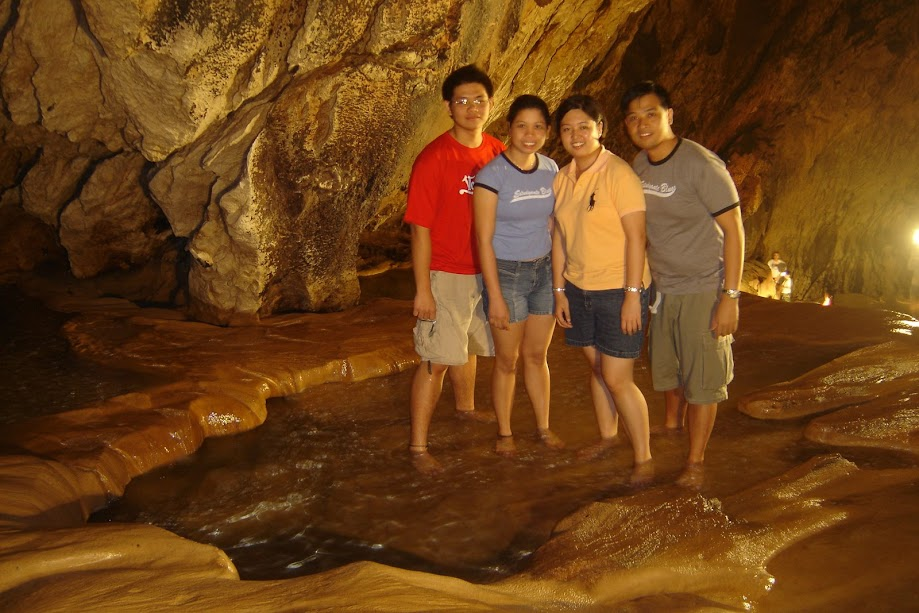 PauTravels at the pools underneath the ground and within the Sagada Cave