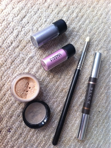 Mac and Benefit Pigments