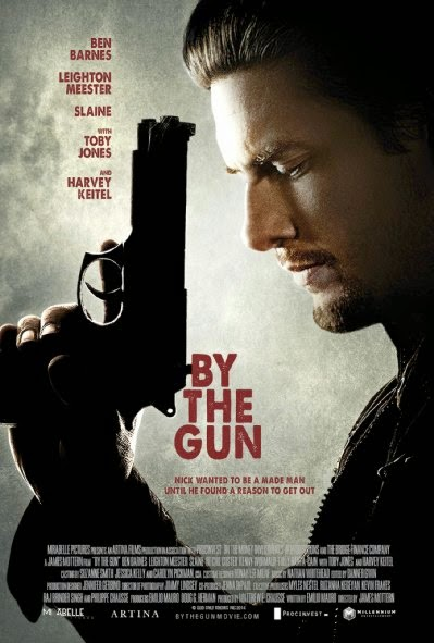 Poster Of English Movie By the Gun (2014) Free Download Full New Hollywood Movie Watch Online At Alldownloads4u.Com