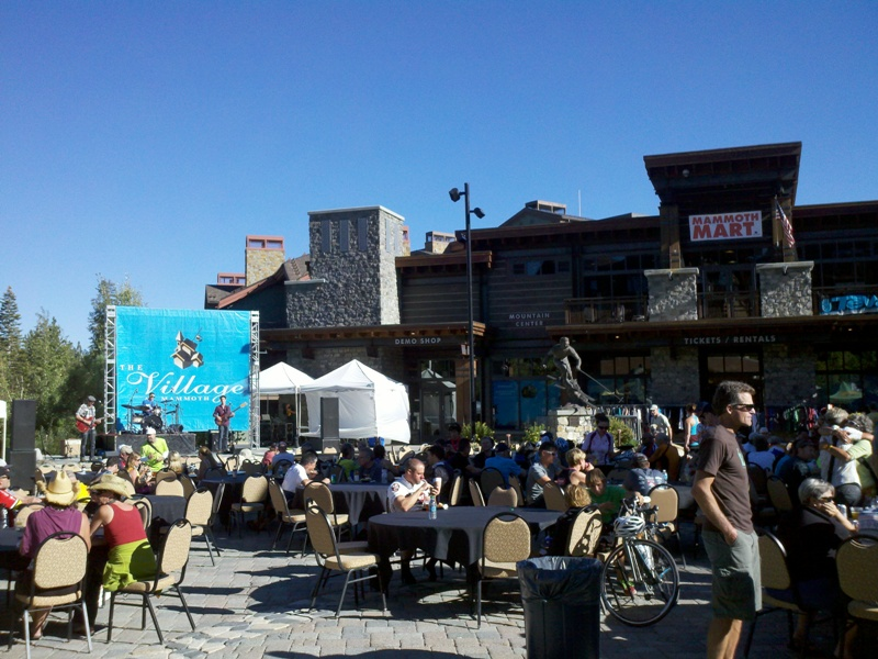 Mammoth Gran Fondo • Finish at the Village in Mammoth