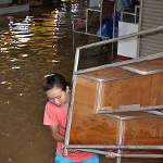 Flooding still bad at the Indochina Market