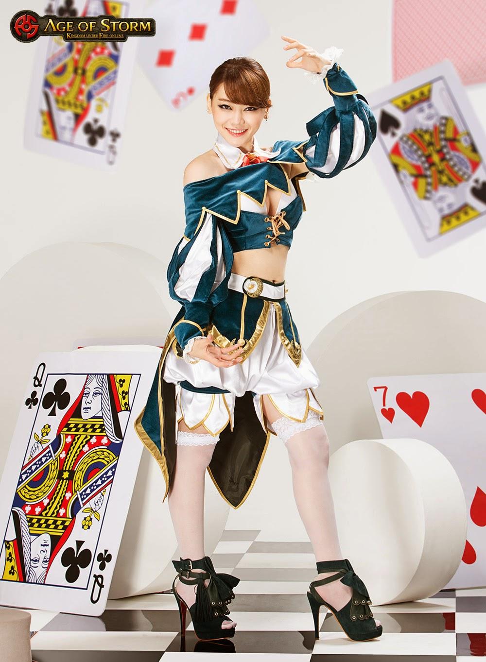 Hé lộ ảnh cosplay Age of Storm của Yuri Seo - Ảnh 4