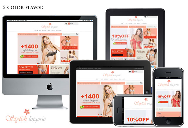 Home Page - Stylish Lingerie 1.0 - Lingerie, bras, penties and adult prestashop Themes