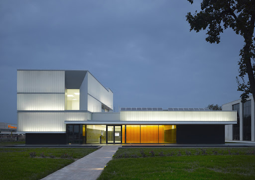 domus technica – center for advanced training immerges design by iotti + pavarani architetti