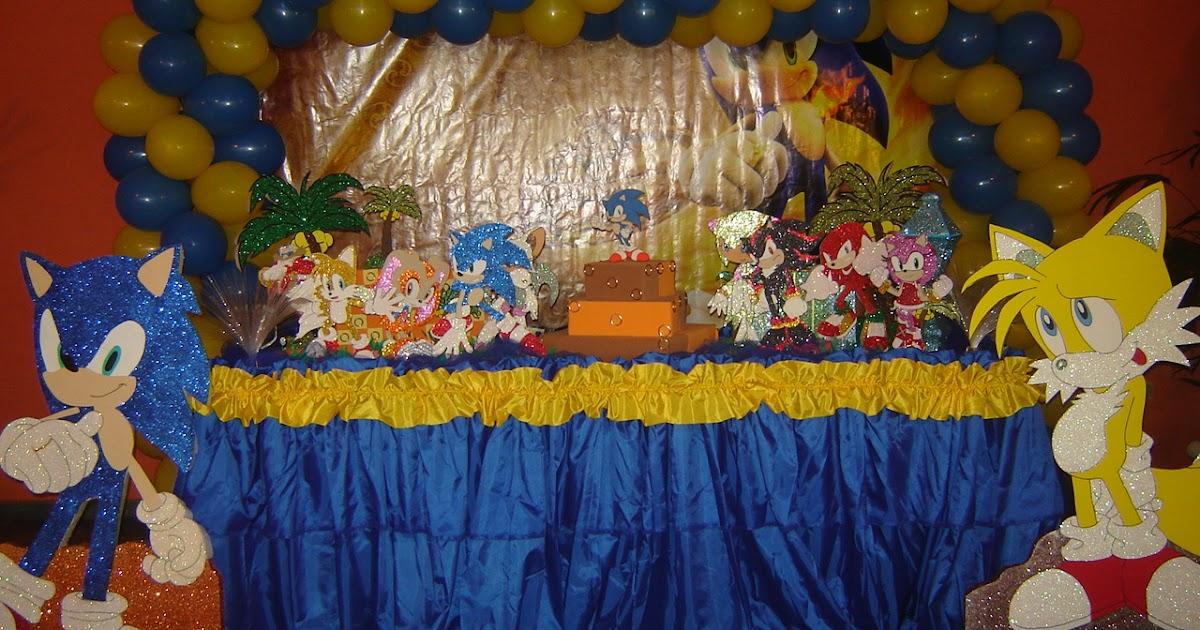 decoracao festa xuxinha:Festas Boli Boli: DECORAÇÃO SONIC