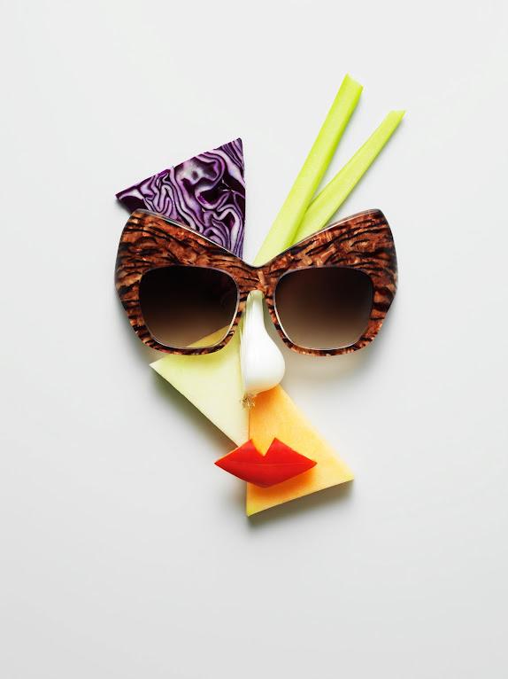 *果臉眼鏡展示架:瑞典藝術家 Philip Karlberg 抽象視覺成列 ! 3