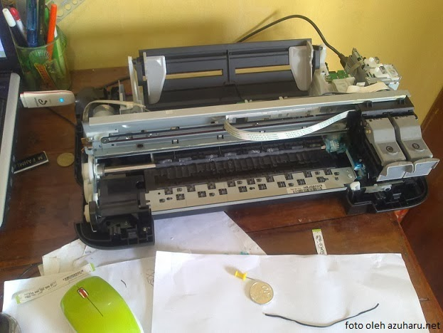pengalaman bongkar printer canon ip2770