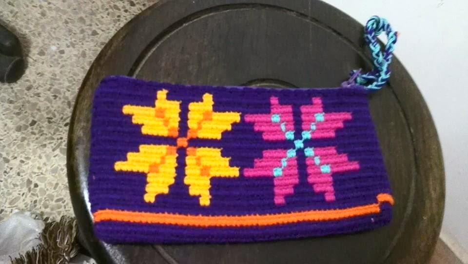 Cosmetiquera Cartera Wayuu Ref. 3