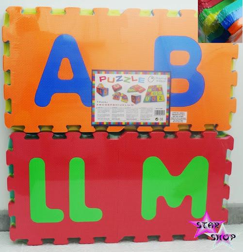Alfombra puzzle goma eva espuma ni os juego juguete - Alfombra puzzle ninos ...
