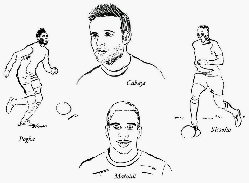 Dessin de foot a colorier gratuit - France football gratuit ...