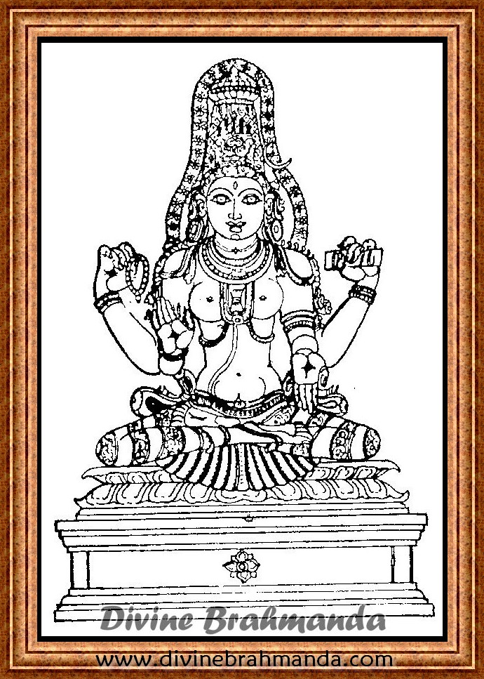 Soundarya Lahari Sloka, Yantra & Goddess For Success In All Matters - 78
