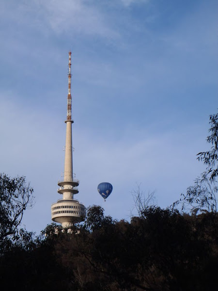 telstrayama and balloon