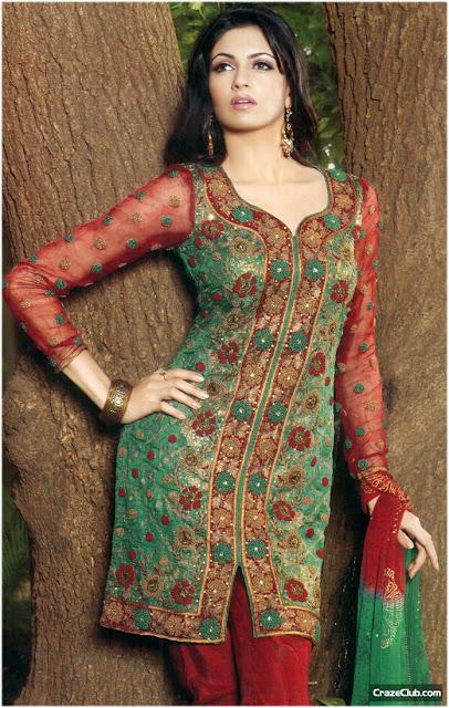 Party Wear : Pakistani Girls Fashion, pakistani fashion, desi fashion