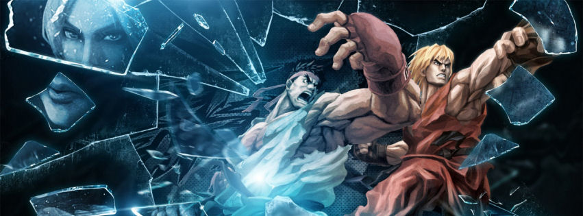 Ryu and ken facebook cover