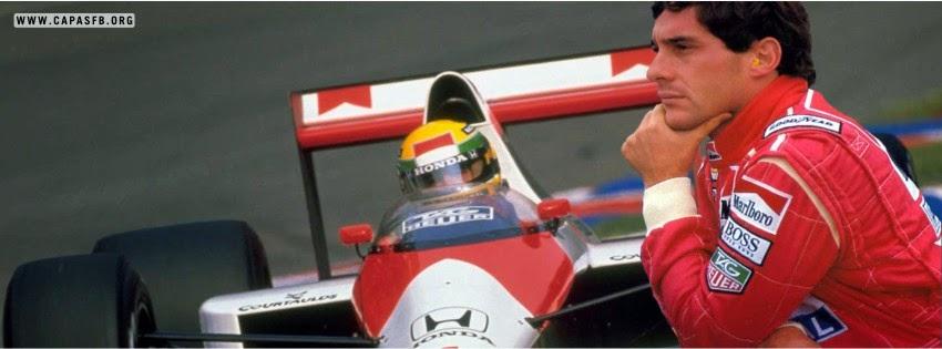 Capas para Facebook Ayrton Senna