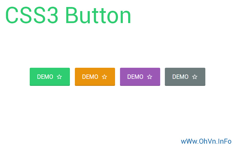 Chia sẻ Code Demo và Download CSS3 Button cho AMP Blogger