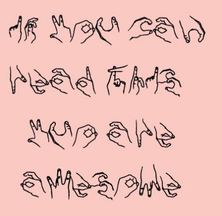 If you can read this you are awesome!