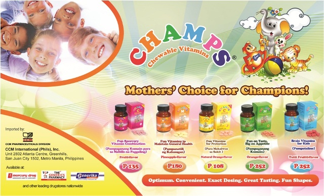 Champs Chewable Vitamins price and availability