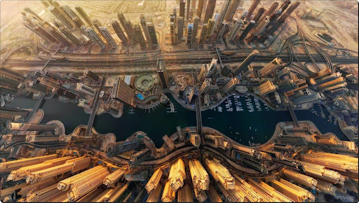 The world from above - Marina Bay, Dubai.jpg