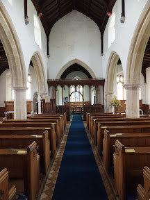Interior to All Saints Church, Beeston