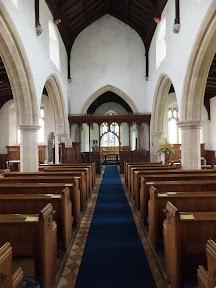 Interior to All Saints Church, Beeston