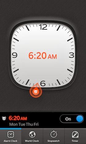 Alarm BB10