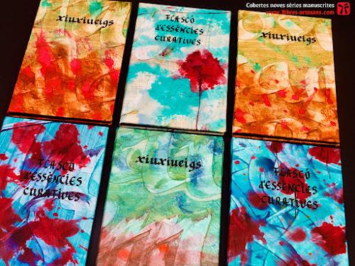 Noves sèries cal·ligrafiades de Llibres Artesans