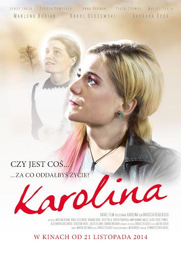 Polski plakat filmu 'Karolina'