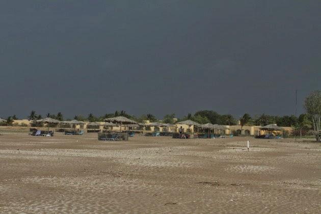 The Beach at Al Sawadi, Oman