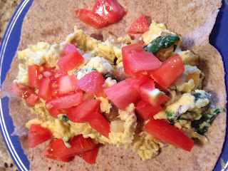 21 day fix approved Breakfast Burrito
