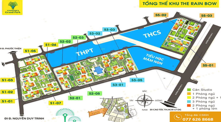 mat bang Vinhomes Grand Park