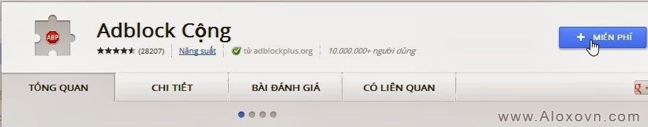 Adblock Plus cho Chcrome