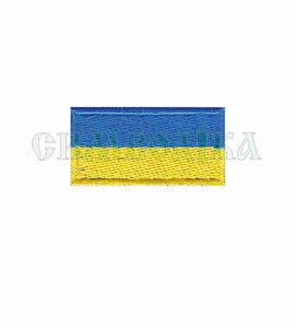 Прапорець синьо-жовтий 4х2 см