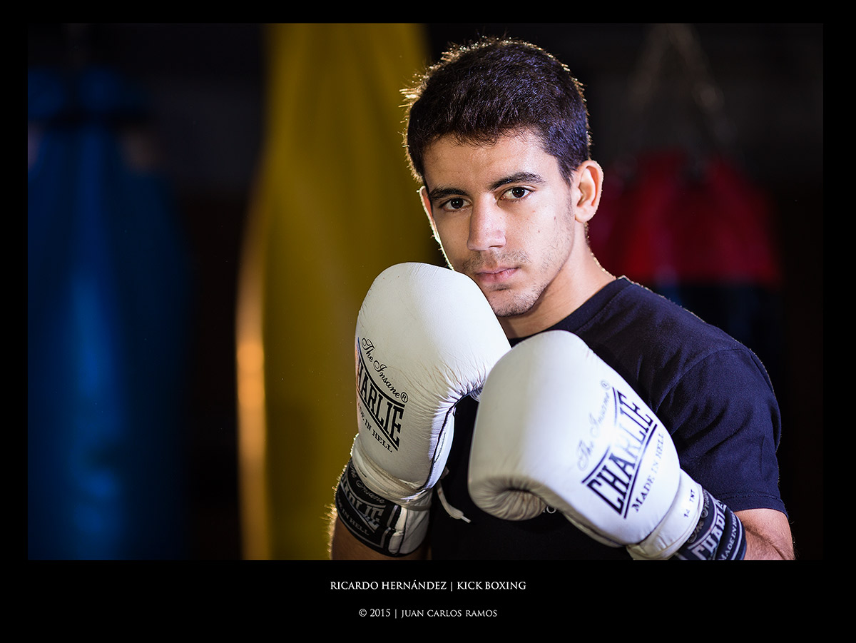 ricardo hernandez kick boxing por Juan Carlos Ramos fotografo toledo