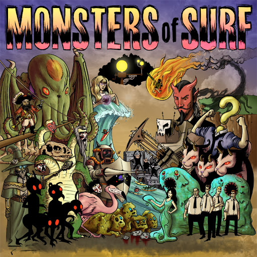 Daikaiju - Monsters Of Surf