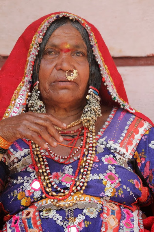 Traditional Lambani Gypsy Woman from Dandeli
