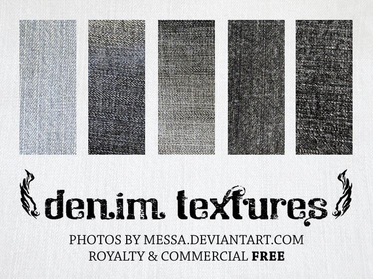 Dirty Grunge Denim Textures