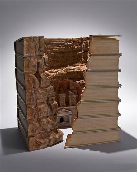 Книги-пейзажи. 12 фото
