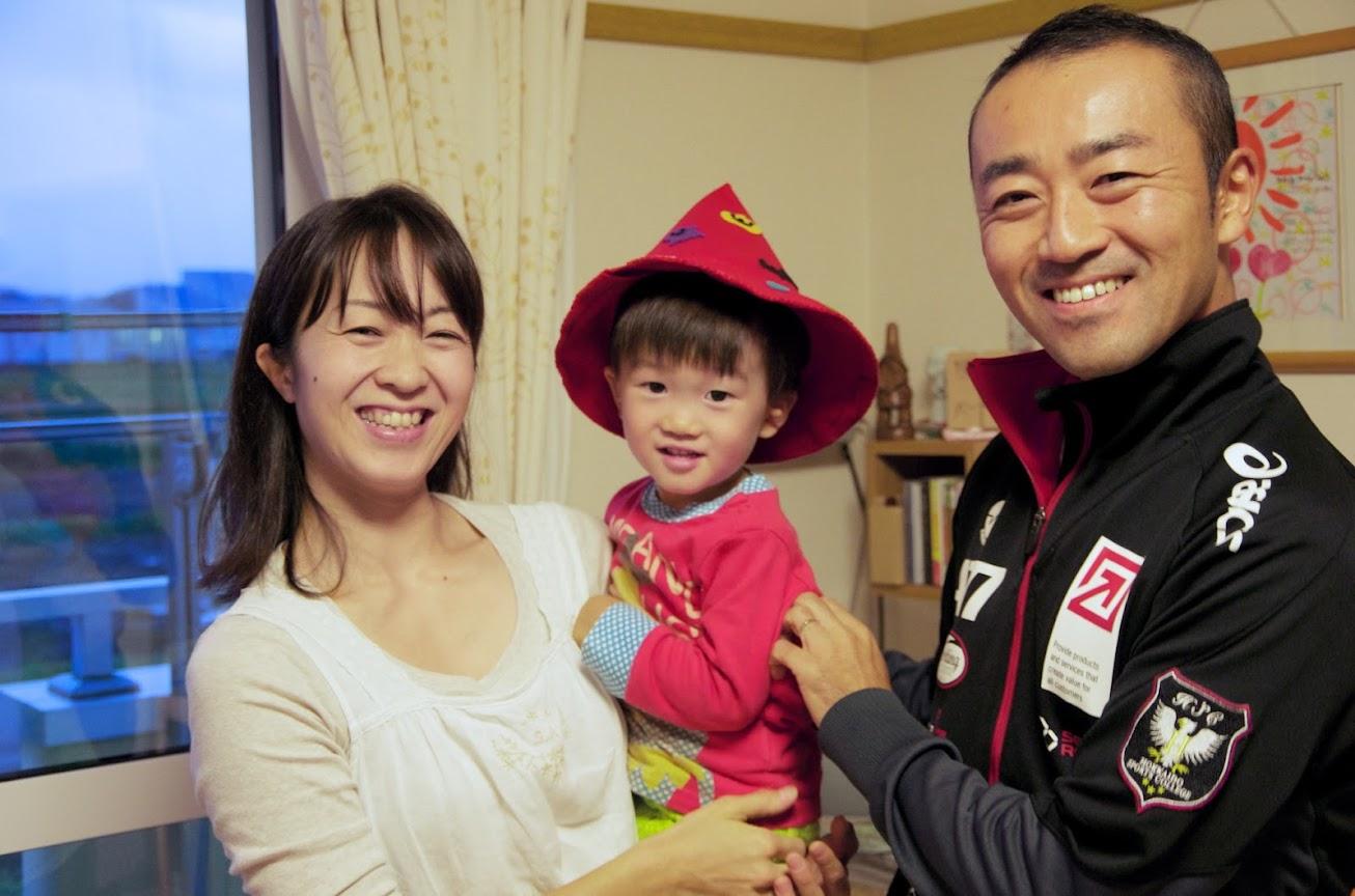 谷本光さん桂さん龍くん(2歳)ご家族