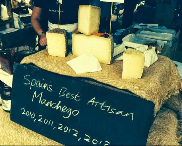 Brockley Market - Manchego cheese