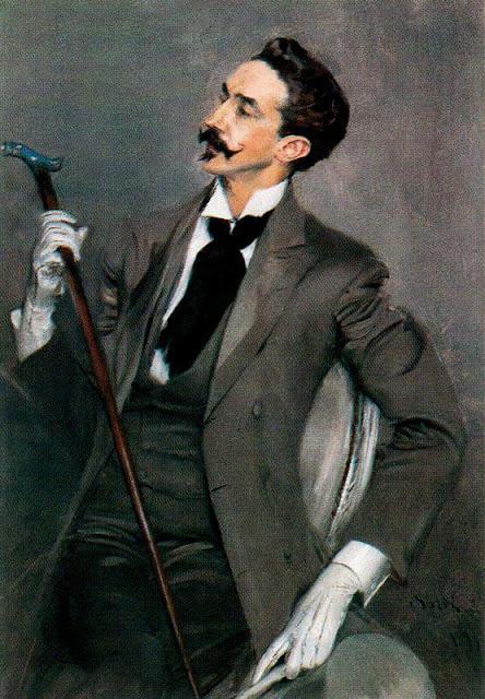 Giovanni Boldini - Count Robert de Montesquiou 1897