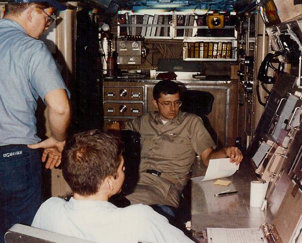 Missile Control Center (during refit)
