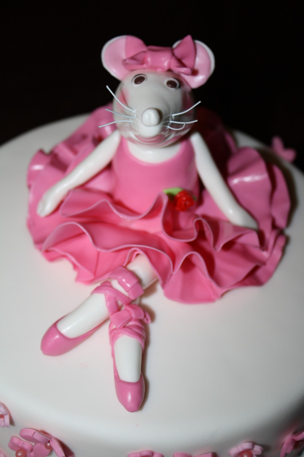 Sandy S Cakes 192 Ngelina Love Angelina Ballerina