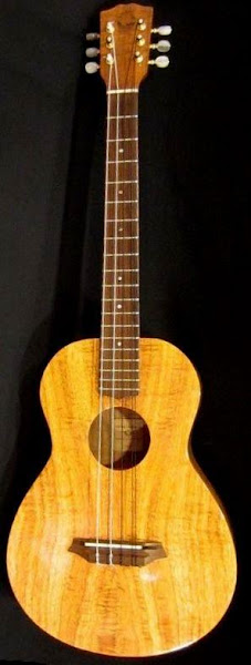 G-String 6 string Baritone scale Lili'u Ukulele