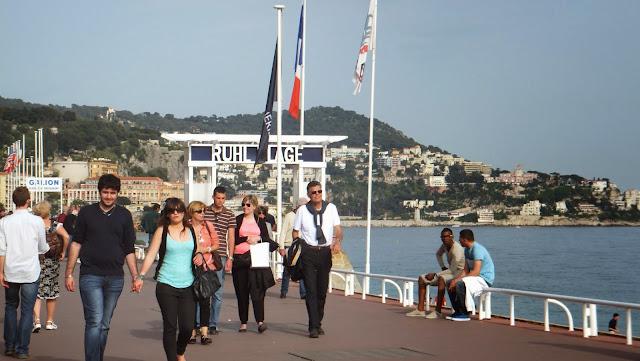 Promenade des Anglais, Paseo de los Ingleses, Niza, Francia, Elisa N, Blog de Viajes, Lifestyle, Travel
